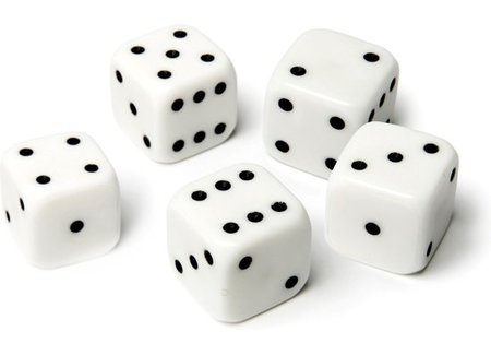 Dice and cups