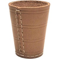 BUFFALO Dice cup 9 cm Leather
