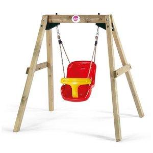 Baby swing wood