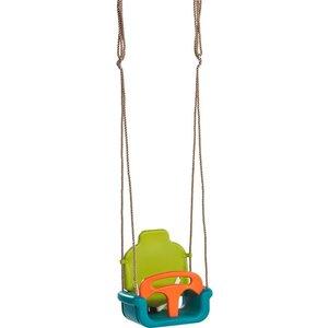 babyzitje groeimodel - PP limoen groen/oranje
