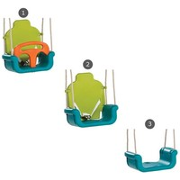 KBT  babyzitje groeimodel - PP limoen groen/oranje
