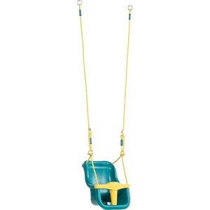 baby seat luxury -PP-turquoise/yellow