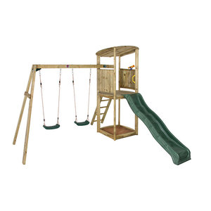 Bonobo climbing frame with swings of wood
