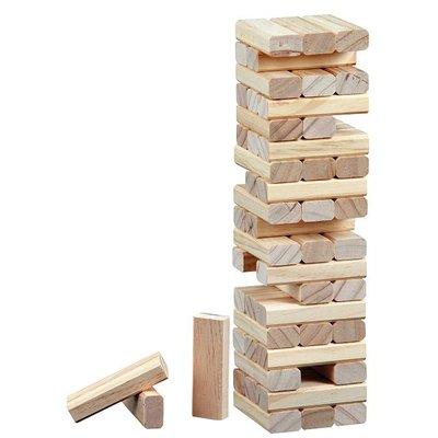 """Timber """"vallende toren"""" 75 x 75 x 285 mm"""