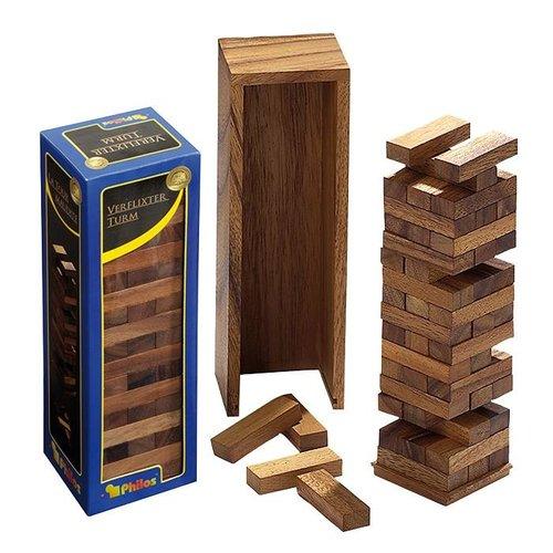 PHILOS  Timber vallende toren deluxe 80x70x235mm