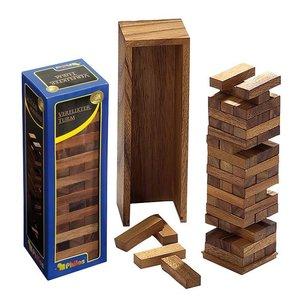 Timber vallende toren deluxe 95x85x305mm