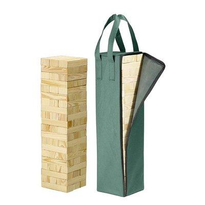 Timber vallende toren 600x150x150mm
