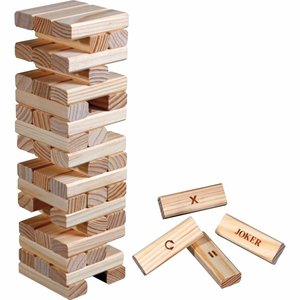 Timber Action - wooden falling tower