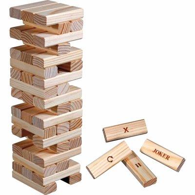 Timber Action - houten vallende toren