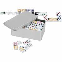 PHILOS  Domino dubber 12 in metalen box