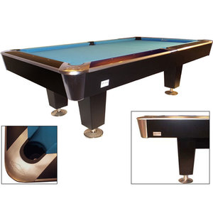 Poolbiljart X-treme II Pro-series black-RVS