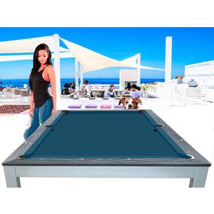 Pool table Lexor dinner Ibiza Jeans