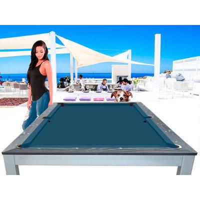 Pooltafel Lexor dinner Ibiza Jeans div. maten en kleuren