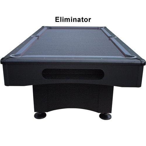 BUFFALO Pooltafel Buffalo Eliminator II.  mat zwart/laken grijs 7 en 8 foot