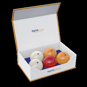 Carom balls DynaSpheres Gold Club 61.5 mm