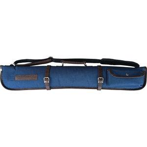 Laperti cue bag 2B-2S blue / brown