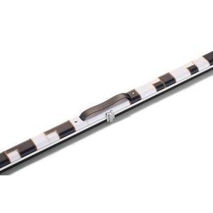 Snooker koffer 1/1 delige Halo Wit -zwart