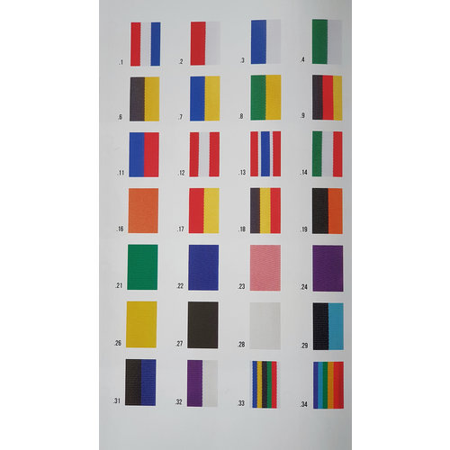 Remasco Neck ribbon 400 x 22 mm various colors