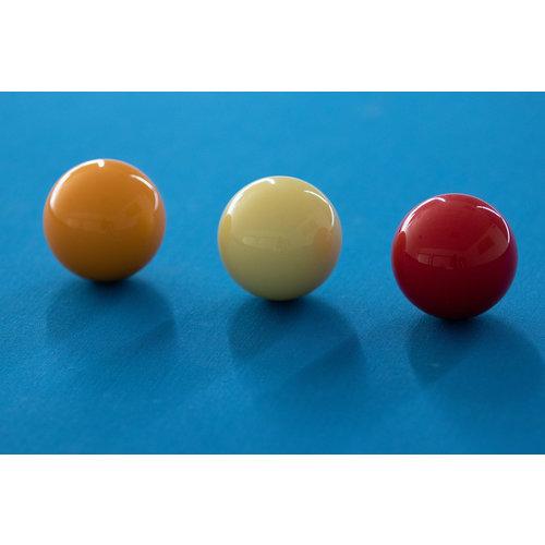 Van den broek biljarts Free trial set of Carambole balls Dynaspheres Silver 615