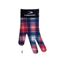LONGONI Longoni Fancy Check glove