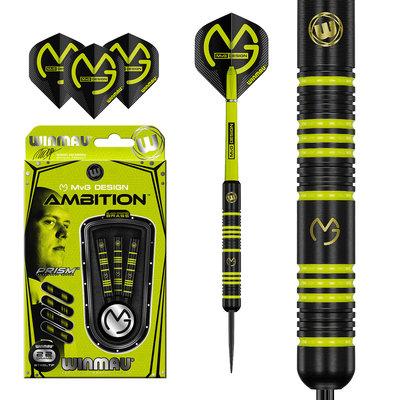 Winmau MvG Ambition brass steeltip dartpijlen