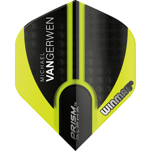 Winmau MvG Prism Alpha flight green