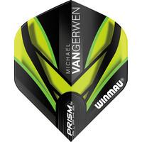 Winmau Winmau MvG Prism Alpha flight groen/zwart