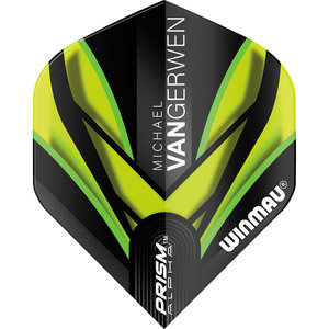 Winmau MvG Prism Alpha flight green / black
