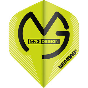 Winmau MvG Mega Standard flight green