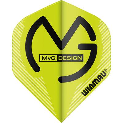 Winmau MvG Mega Standard flight green