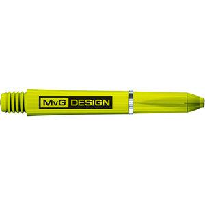 Winmau MvG Signature Nylon shafts groen short