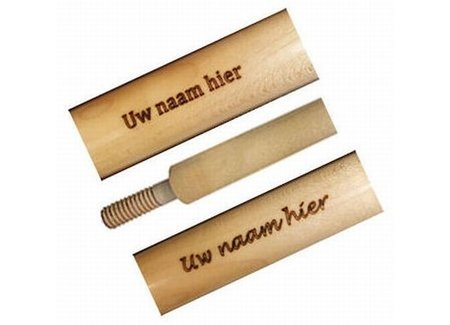 Laser engraving or Stickers