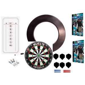Dart board set komplett