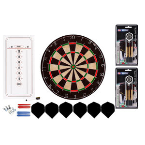 Dart board set complete eco
