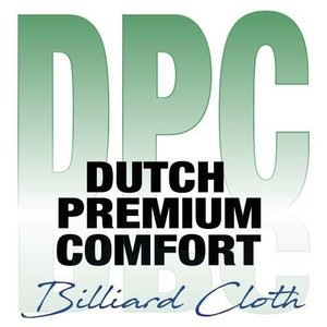 DPC billiard cloth - Dutch Premium Comfort complete