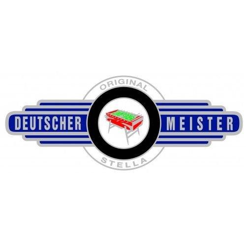 Deutscher Meister Foosball table Deutscher Meister Luxeline Black (NO MINT INSERT)