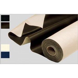 Tarpaulin thick 210 cm wide with poly-back.