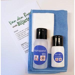 RSS MK ™ -belegg. mindre vedheft av mikroorganismer