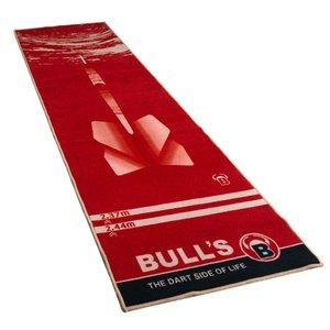 """BULL'S Dart-Mat """"180"""" rood"""