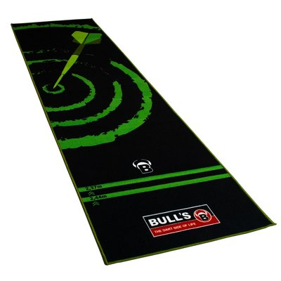 """BULL'S Dart-Mat """"180"""" green"""