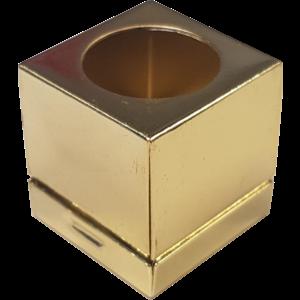 Billiard chalkholder de LUXE copper Yellow