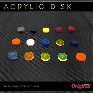 Acrylic ferrule protector 3mm