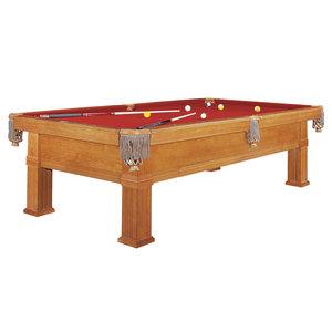 Pool table Dynamic Bern, 8 or 9 foot brown