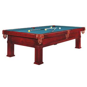Pool table Dynamic Bern, 8 or 9 foot mahogany