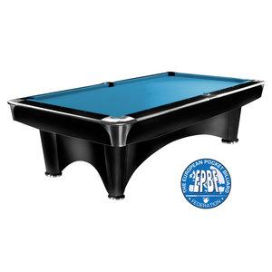 Pool table Dynamic III satin black 7.8 or 9 feet