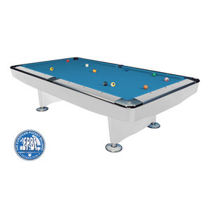 Pool table Dynamic II satin white 7 foot