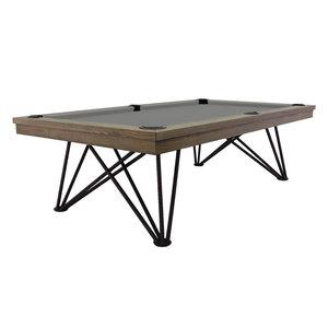Pooltafel Dynamic Dauphine 8 foot zilver mist eiken