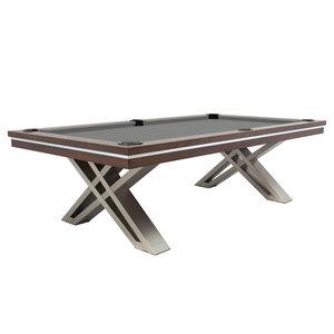 Pool table Dynamic Pierce 8 foot Walnut