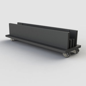 Transport cart for cover sheets