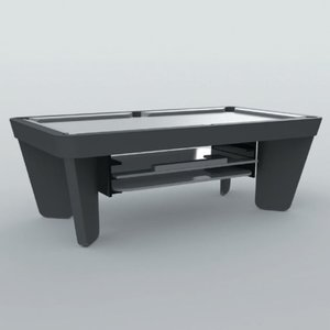 Storage system for cover sheets under billiards